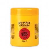 Pudra decoloranta - coloranta profesionala Red cu actiune 2 in 1 - 500 gr