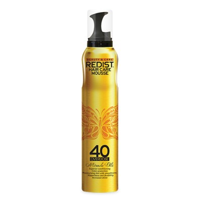 Spuma profesionala de par Miracle Oils 40 Overdose - 200 ml